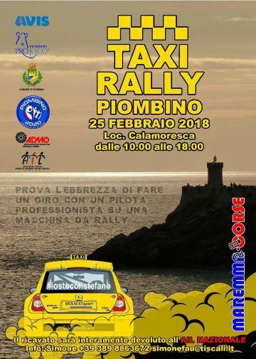 Soddisfazione per il Taxi Rally di domenica a Calamoresca Nonostante il maltempo, la manifestazione ha avuto una buona riuscita