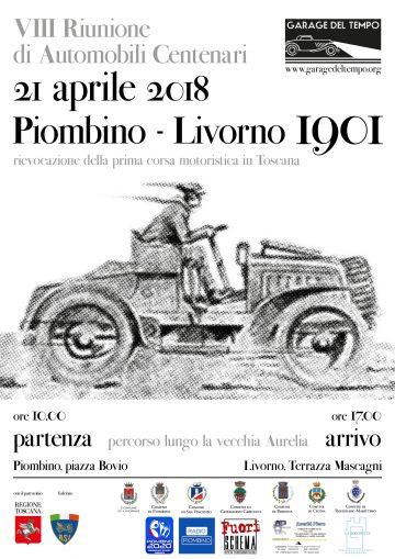 Un tuffo nel passato con la rievocazione della corsa automobilistica Piombino Livorno