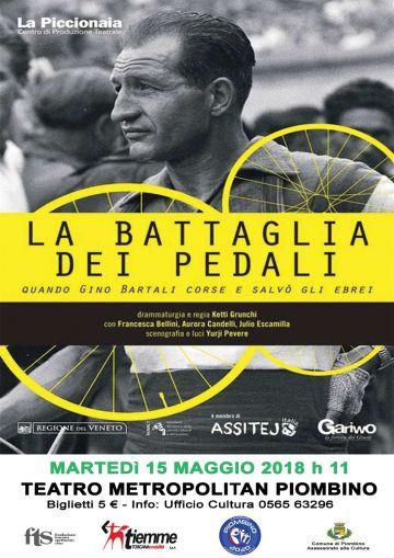 Reading teatrale dedicato a Gino Bartali, eroe in bicicletta