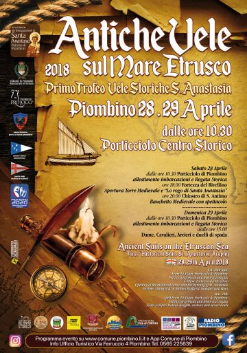 Vento e tradizione nella regata storica di vele latine a Piombino