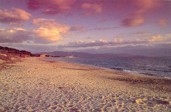 La spiaggia del Parco naturlae della Sterpaia - Riotorto - Piombino